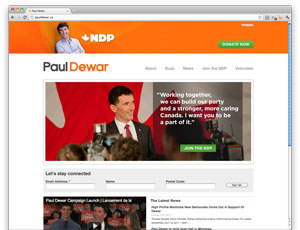 Digital makeover: Paul Dewar