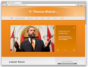 Digital makeover: Thomas Mulcair