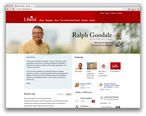 Digital makeover: Ralph Goodale
