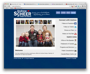 Digital makeover: Andrew Scheer