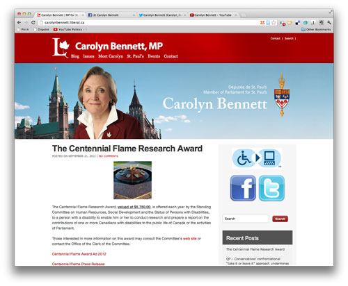 Digital Makeover: Carolyn Bennett