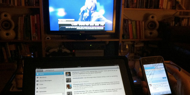 The second screen is becoming increasingly pivotal