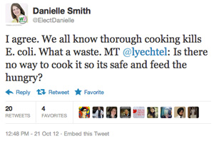 DanielleSmith-meattweet