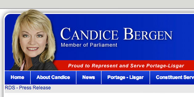 Digital Makeover: Candice Bergen (the MP!)