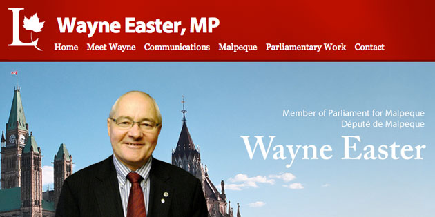 Digital Makeover: Wayne Easter