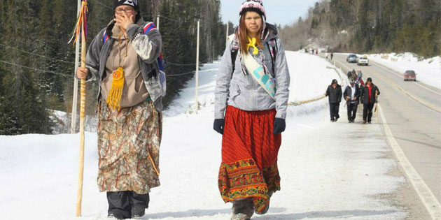 Summary of IdleNoMore traffic for Mar 17-23