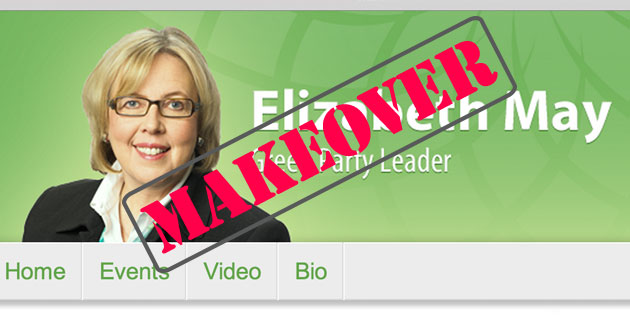 Digital Makeover: Elizabeth May