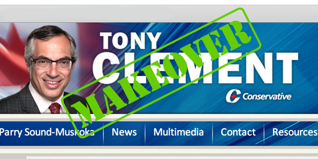 Digital Makeover: Tony Clement