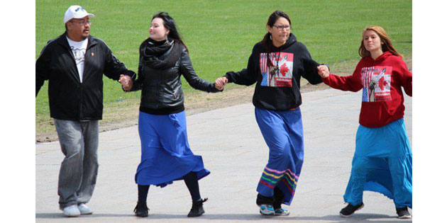 Summary of IdleNoMore traffic for May 12  18