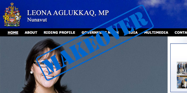 Digital Makeover: Leona Aglukkaq
