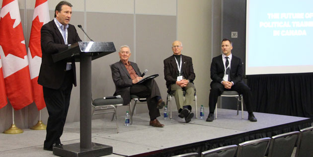 The future of political training in Canada at MNC2014