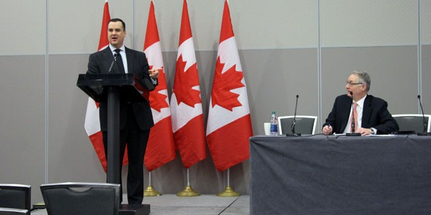 From railways to the digital highway: Minister James Moore at MNC2014