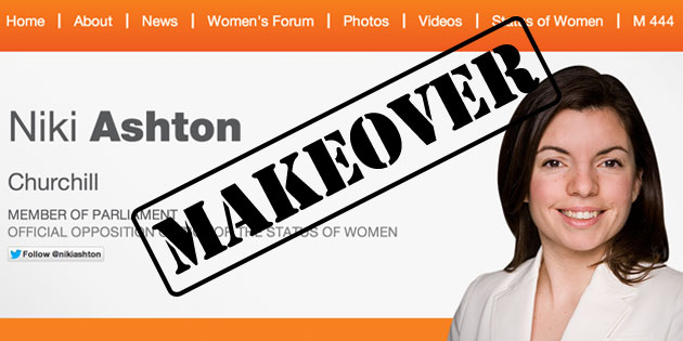 Digital Makeover: Niki Ashton