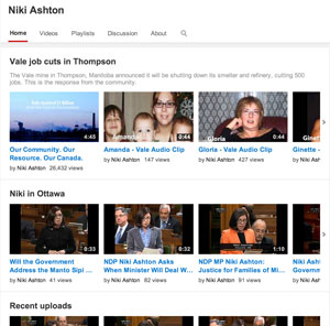 NikiAshton-YouTube-sections