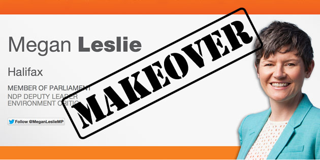 Digital Makeover: Megan Leslie