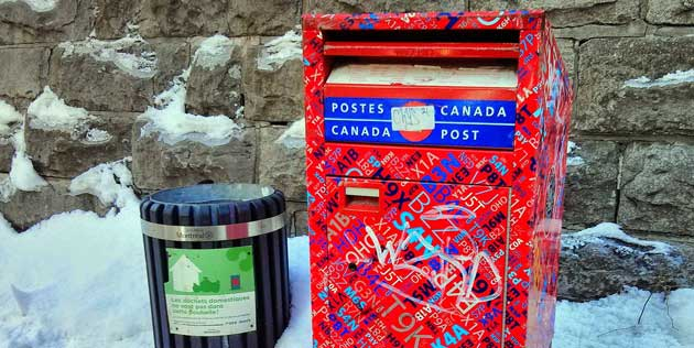 RIP Canada Post: From anywhere… to noone